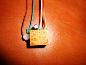 Picture of MINI SMD TIMER SWITCH TIME RELAY 1 TO 145 SEC KIT 10A Delay Off Switch 12V