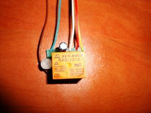 Picture of MINI SMD TIMER SWITCH TIME RELAY 0.3 TO 6 SEC KIT 10A Delay Off Switch 12V
