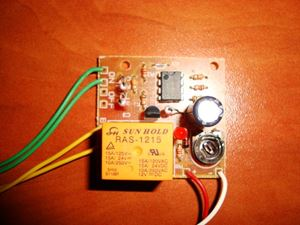 Picture of Delay Off Switch 12V On/Off Buttons TIMER SWITCH TIME RELAY 1 TO 145 SEC KIT 10A