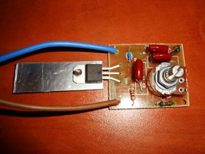 Deselectra Electronics. Dimmer Switch Kit 220V AC LED Light Lamp ...