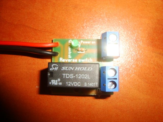 deselectra electronics dc motor reverse polarity switch dpdt picture of dc motor reverse polarity switch dpdt relay module 2a 12v