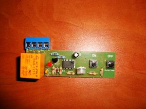 Picture of TIMER SWITCH TIME RELAY KIT 1 TO 120 SEC 10A Delay Off 12V WITH ON OFF BUTTONS