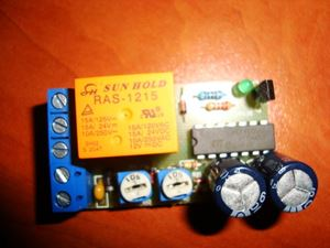 Picture of CYCLIC TIMER SWITCH RELAY 12V ADJUSTABLE ON/OFF REPEATER ON 40-390s OFF 46-510s