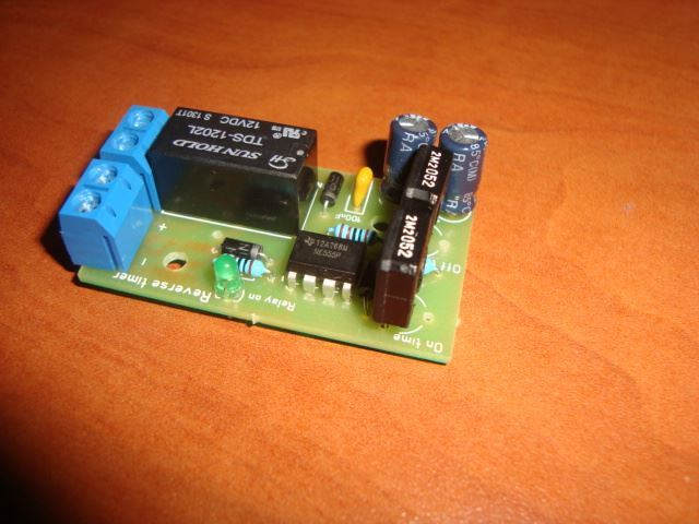 DC MOTOR REVERSE POLARITY CYCLIC TIMER SWITCH TIME REPEATER 165/75s 2A 12V