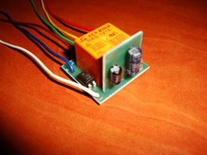Picture of SMD TIMER DELAY OFF SWITCH RELAY 0.5 TO 75 SEC KIT 10A 12V POSITIVE PULSE START