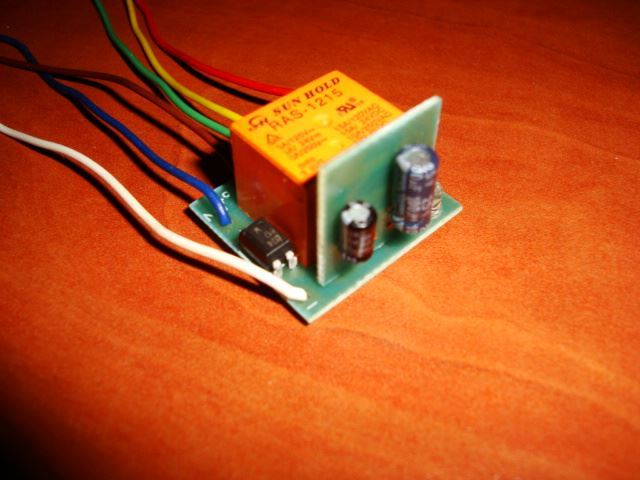 how to build a delay off timer with a relay