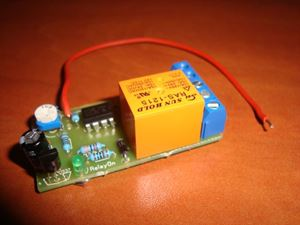Picture of  POSITIVE PULSE ACTIVATING TIMER SWITCH RELAY DELAY OFF 1 TO 13 SEC KIT 10A 12V