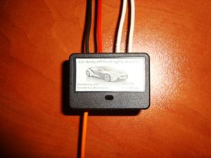 Picture of MINI CAR DRL LED FRONT LIGHTS DELAY TURN OFF TIMER SWITCH 1 TO 90 s 12V 20A BOX